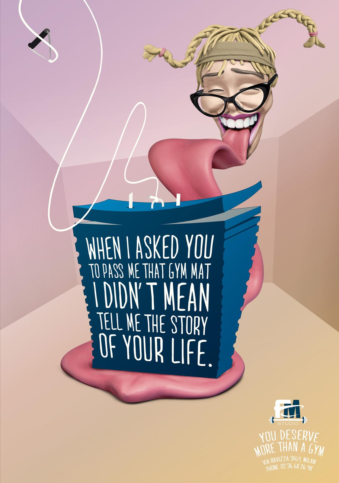 FM Studio Print Ad -  Tongue