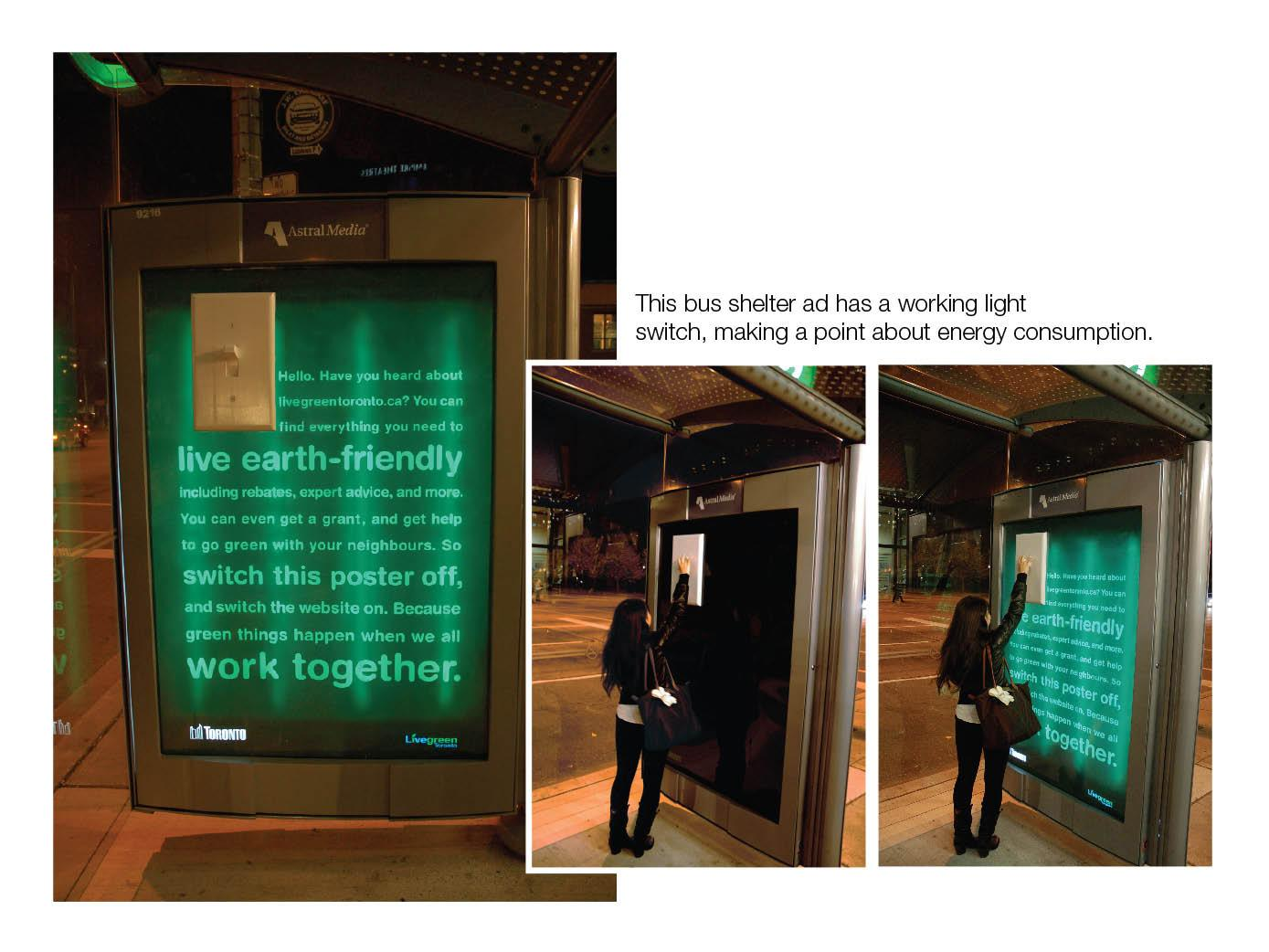 Livegreen Ambient Ad -  Switch