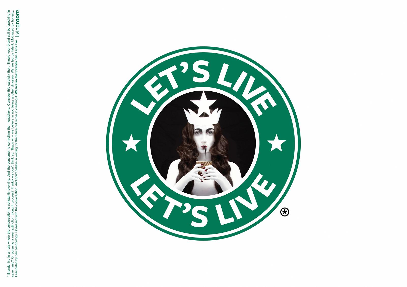 Livingroom Communication Print Ad -  Starbucks