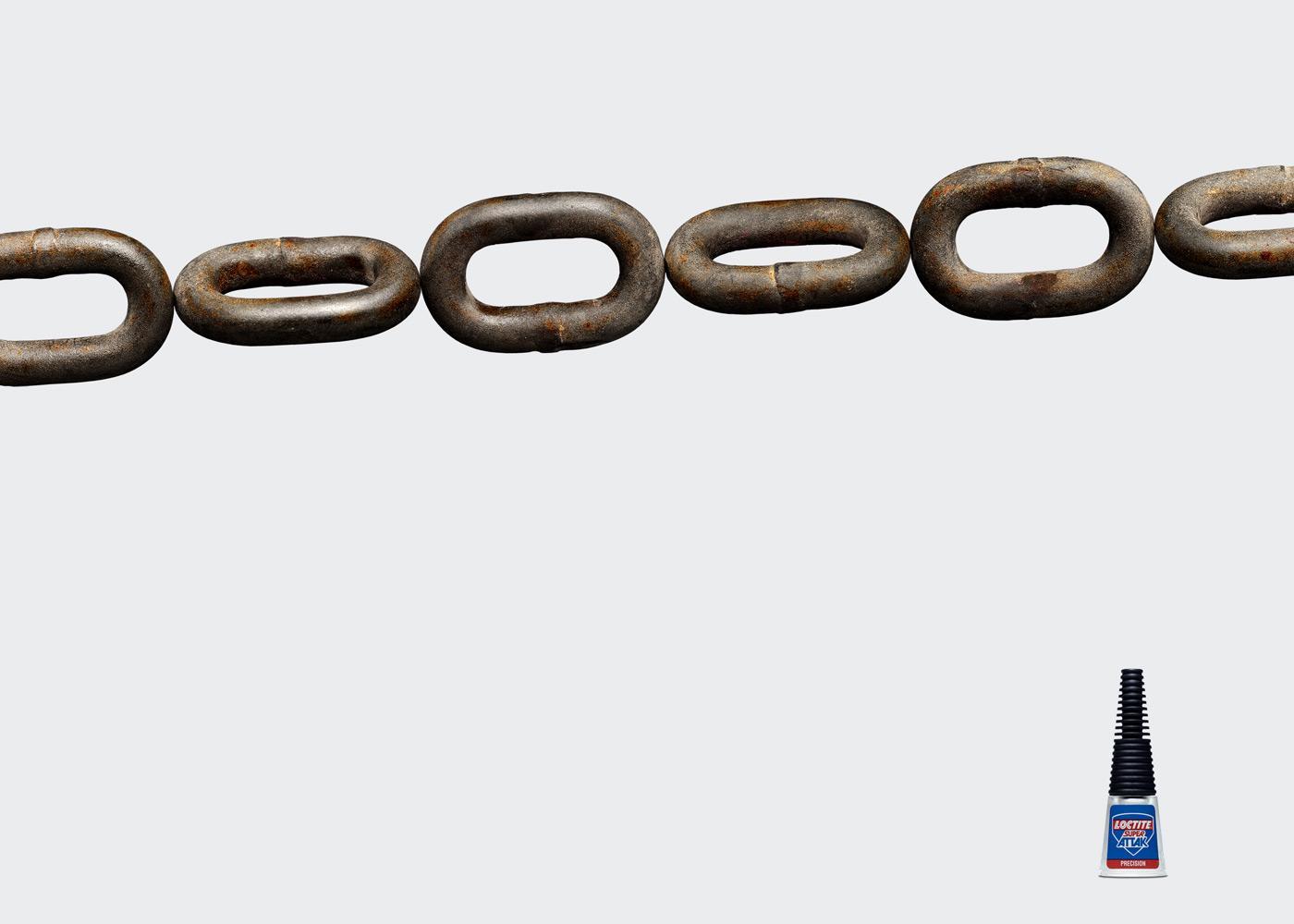 Loctite Print Ad -  Chain