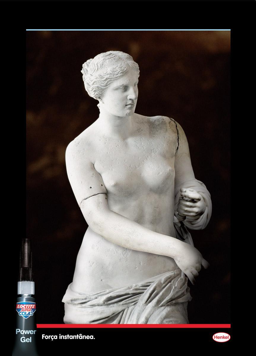 Loctite Print Ad -  Venus de Milo