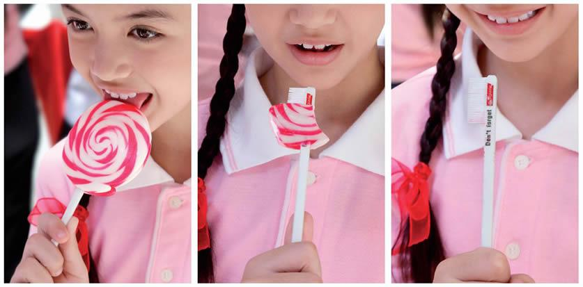 Colgate Direct Ad -  Don't forget, Lollipop
