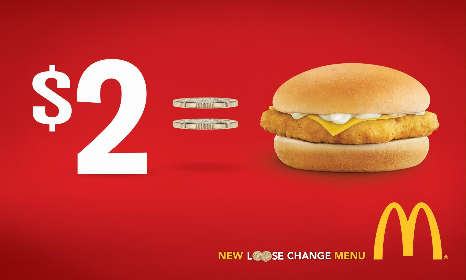 McDonald's Print Ad -  Loose Change, 1