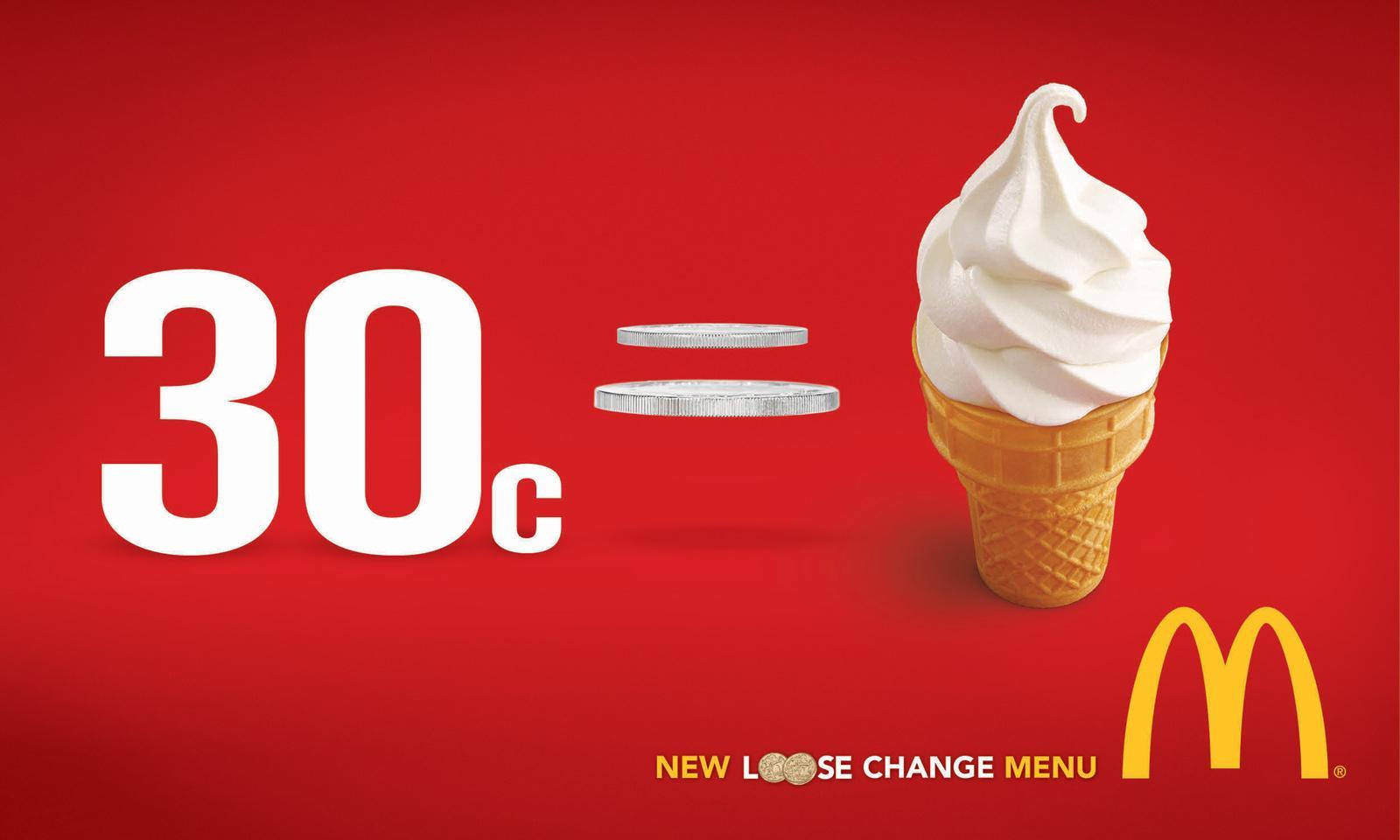 McDonald's Print Ad -  Loose Change, 2