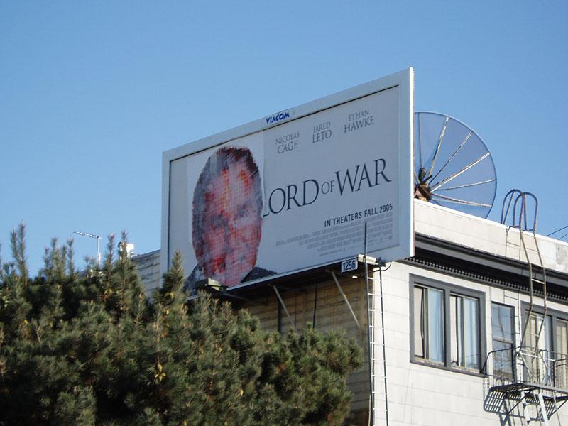 Lord of War defaced