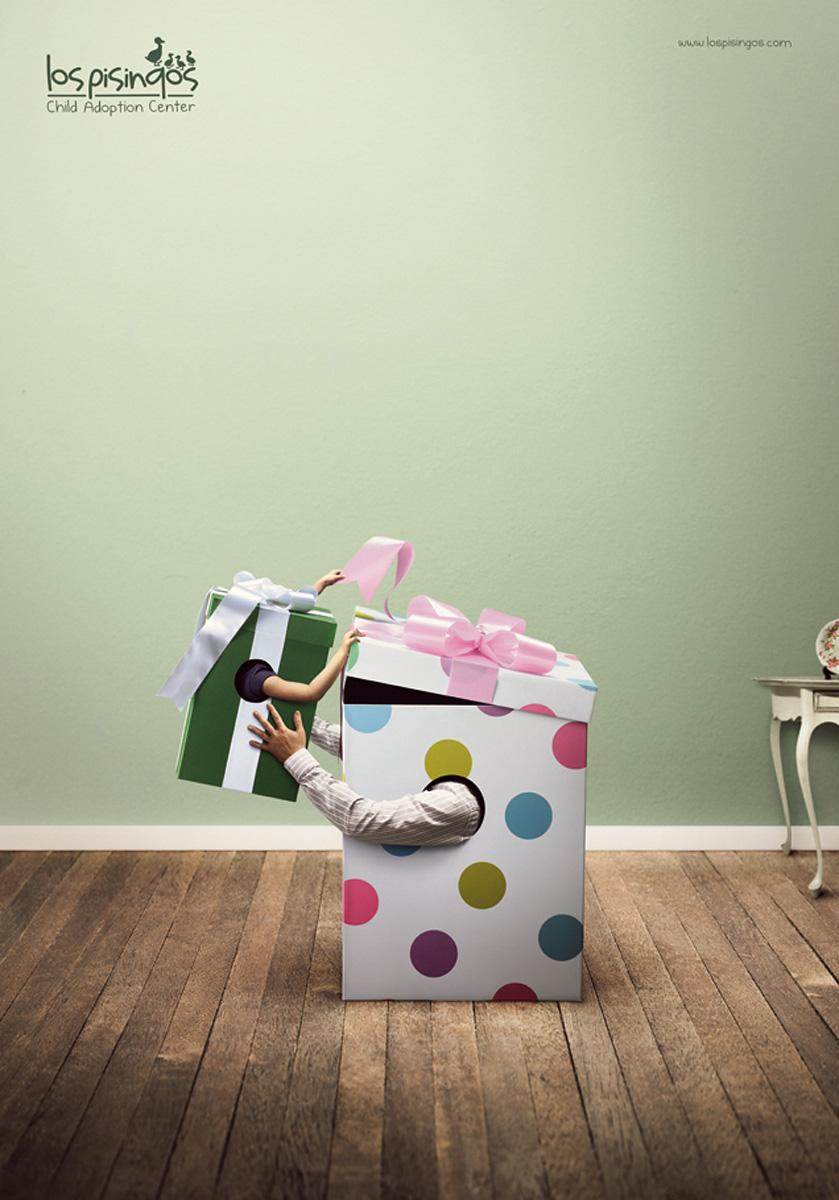 Los Pisingos Adoption Center Print Ad -  Gifts 1