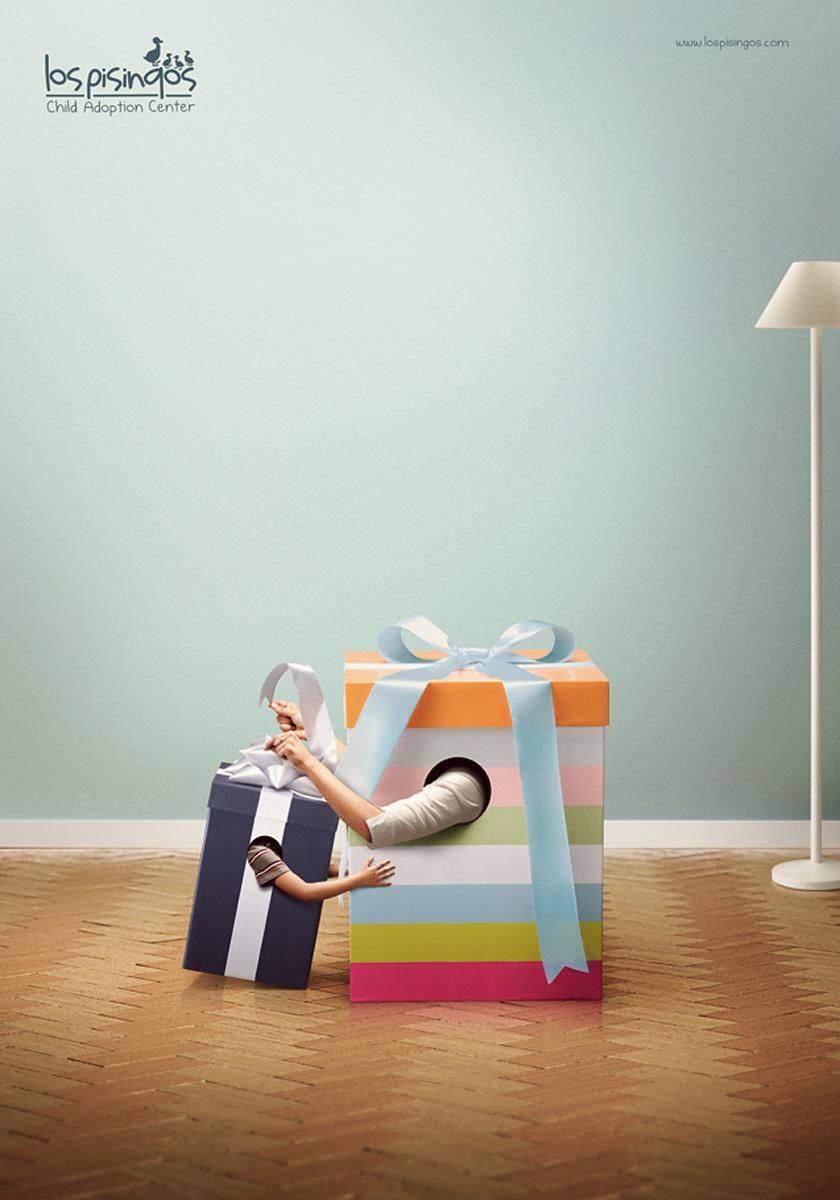 Los Pisingos Adoption Center Print Ad -  Gifts 2