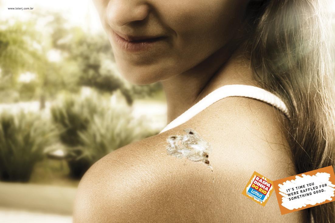 Loterj Print Ad -  Bird poop