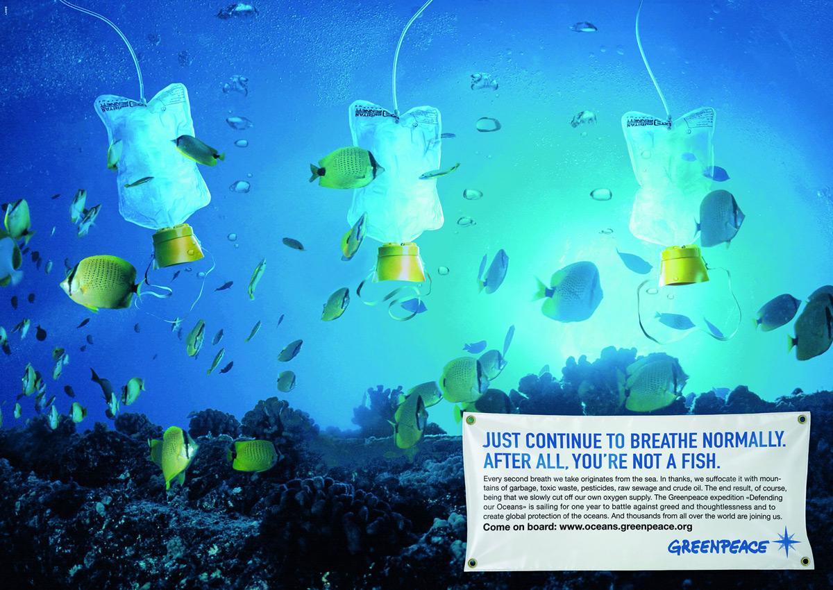 Greenpeace Print Ad -  Ocean defenders, 4