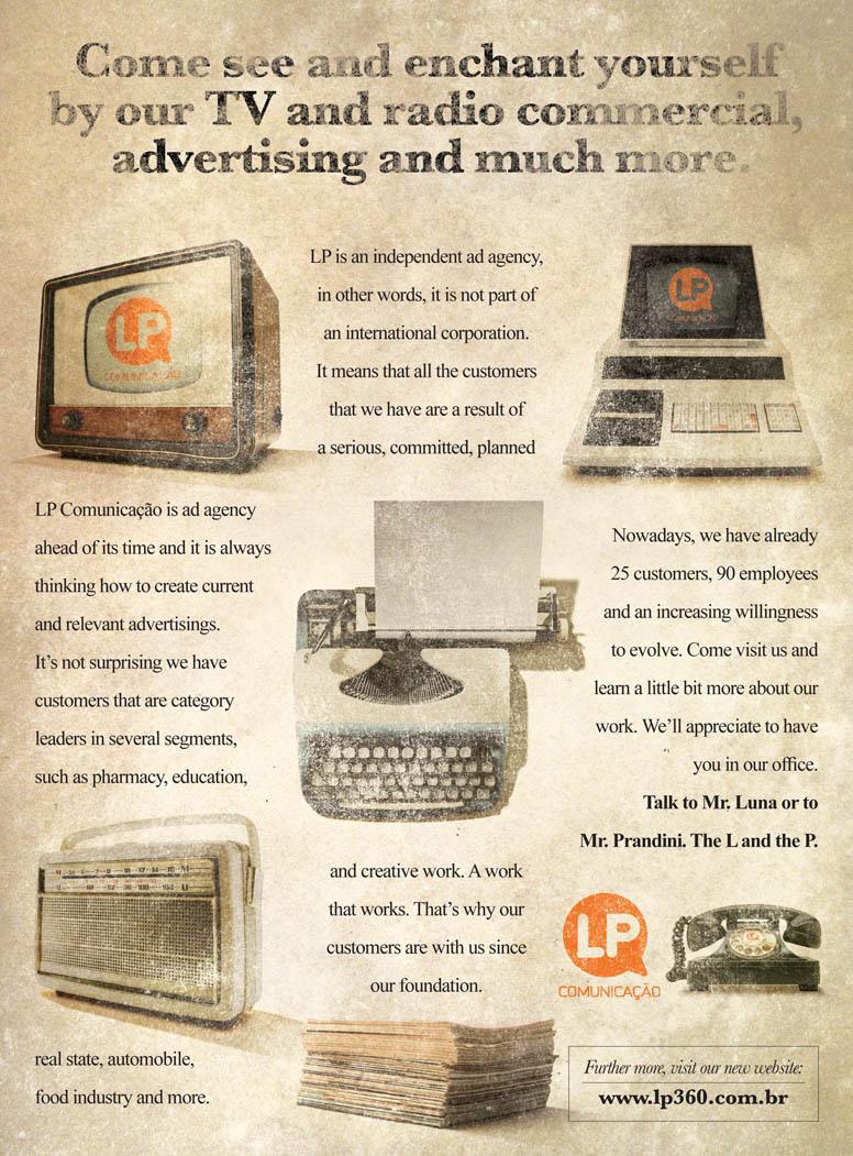 LP 360 Print Ad -  Retro