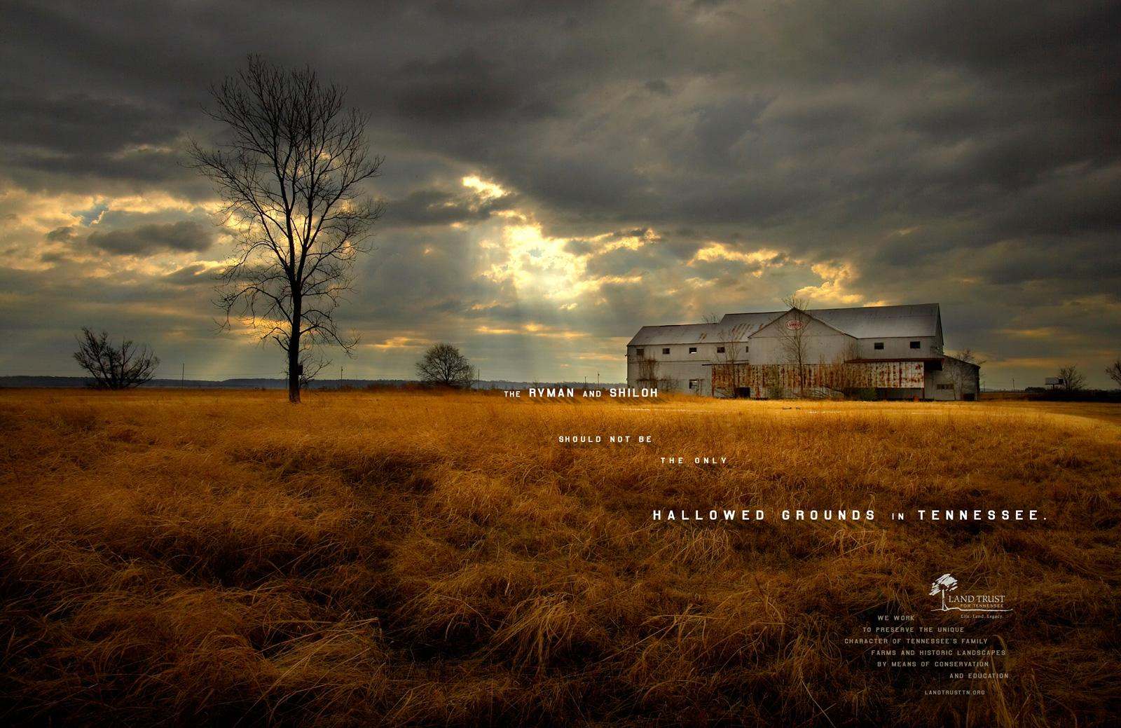 Landtrust of Tennessee Print Ad -  Hallowed