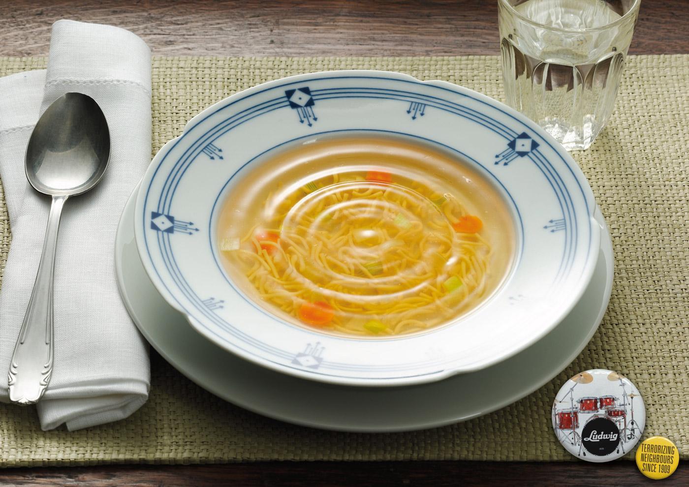 Ludwig Print Ad -  Soup