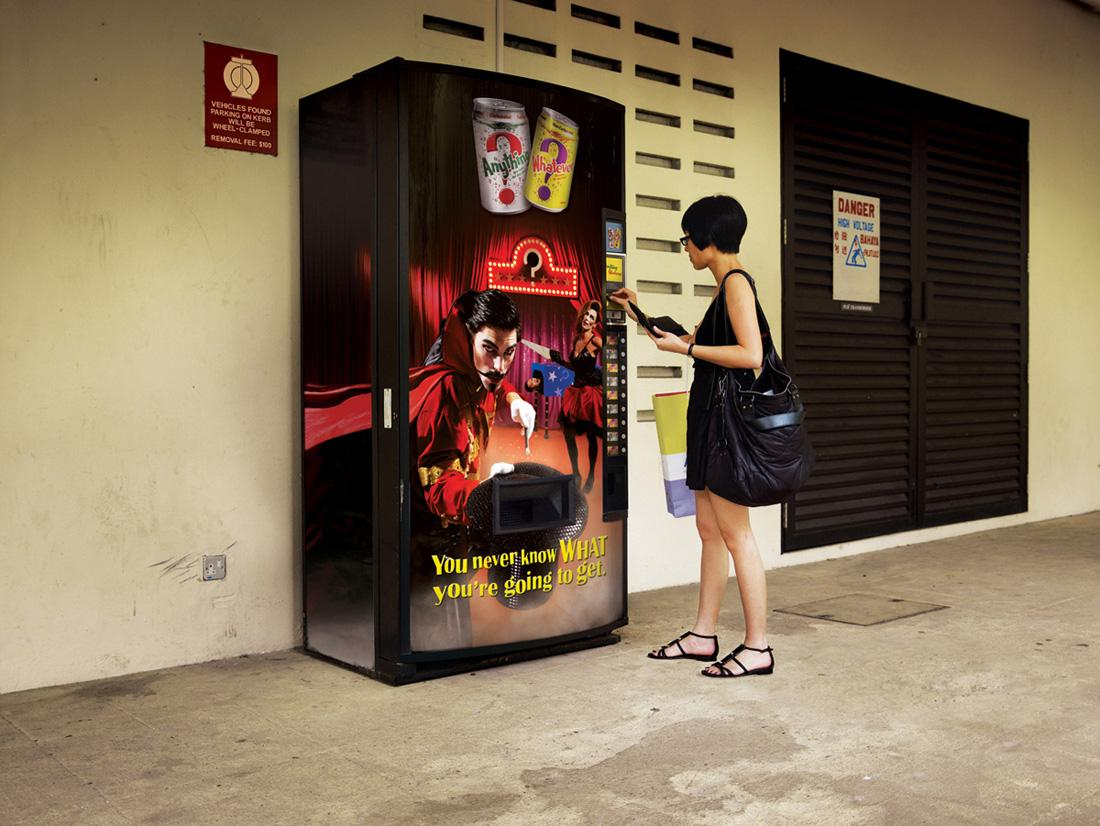 Anything & Whatever Ambient Ad -  Magician
