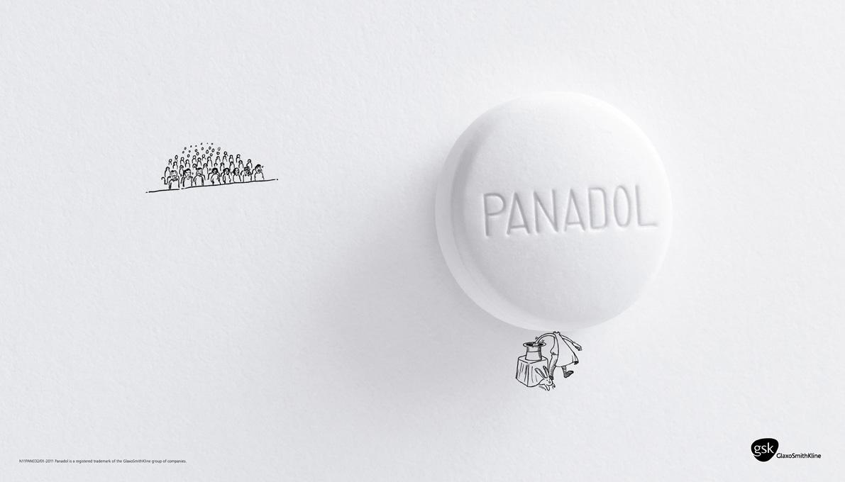 Panadol Print Ad -  Magician