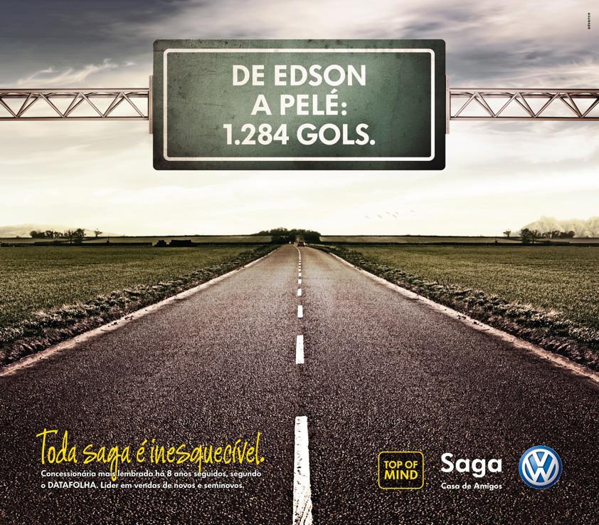 Volkswagen Print Ad -  Pelé