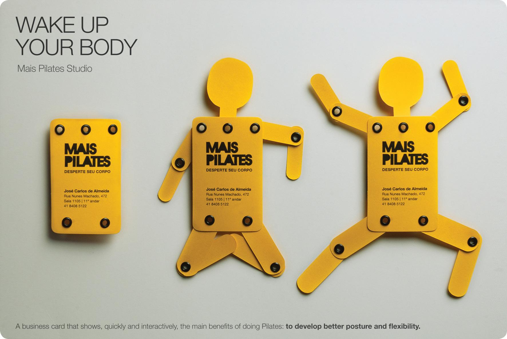 Mais Pilates Studio Direct Advert By MarketData: Wake Up Your Body ...