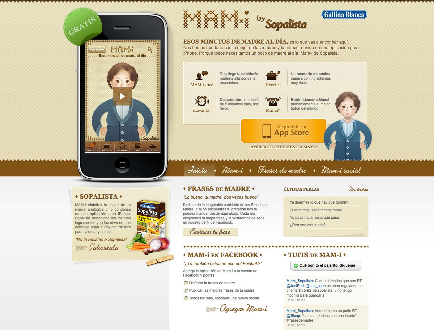 Gallina Blanca Digital Ad -  Mam-I by Sopalista