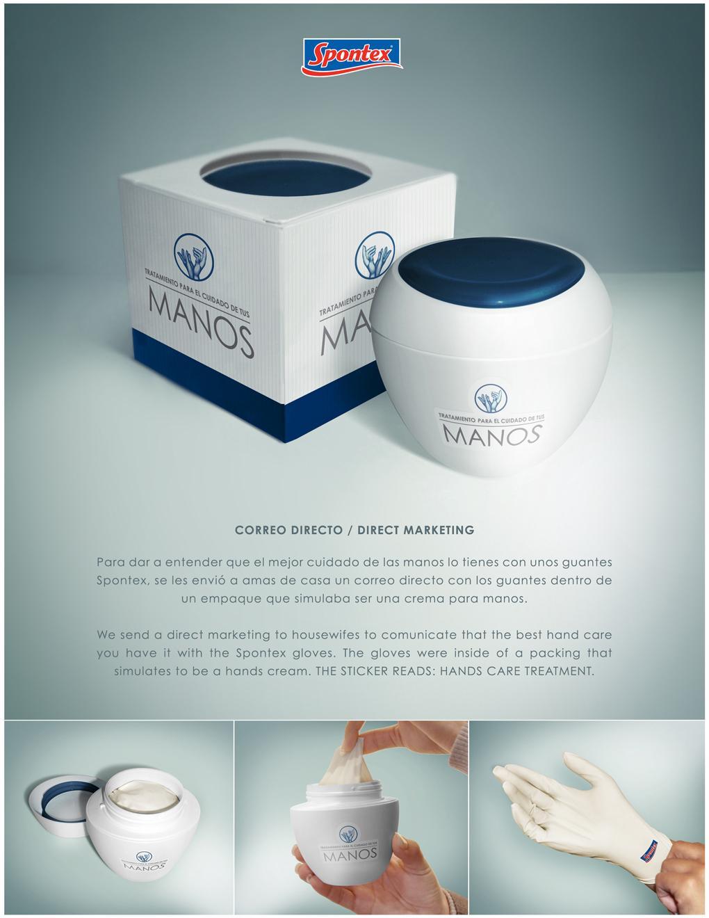 Spontex Direct Ad -  Hand care