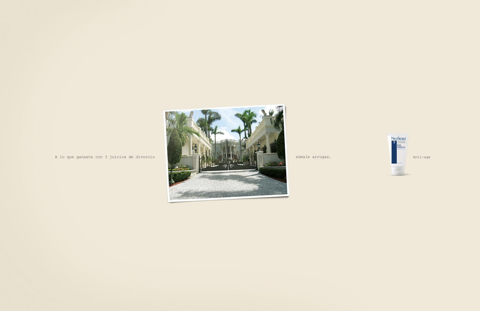 NeoStrata Print Ad -  Mansion