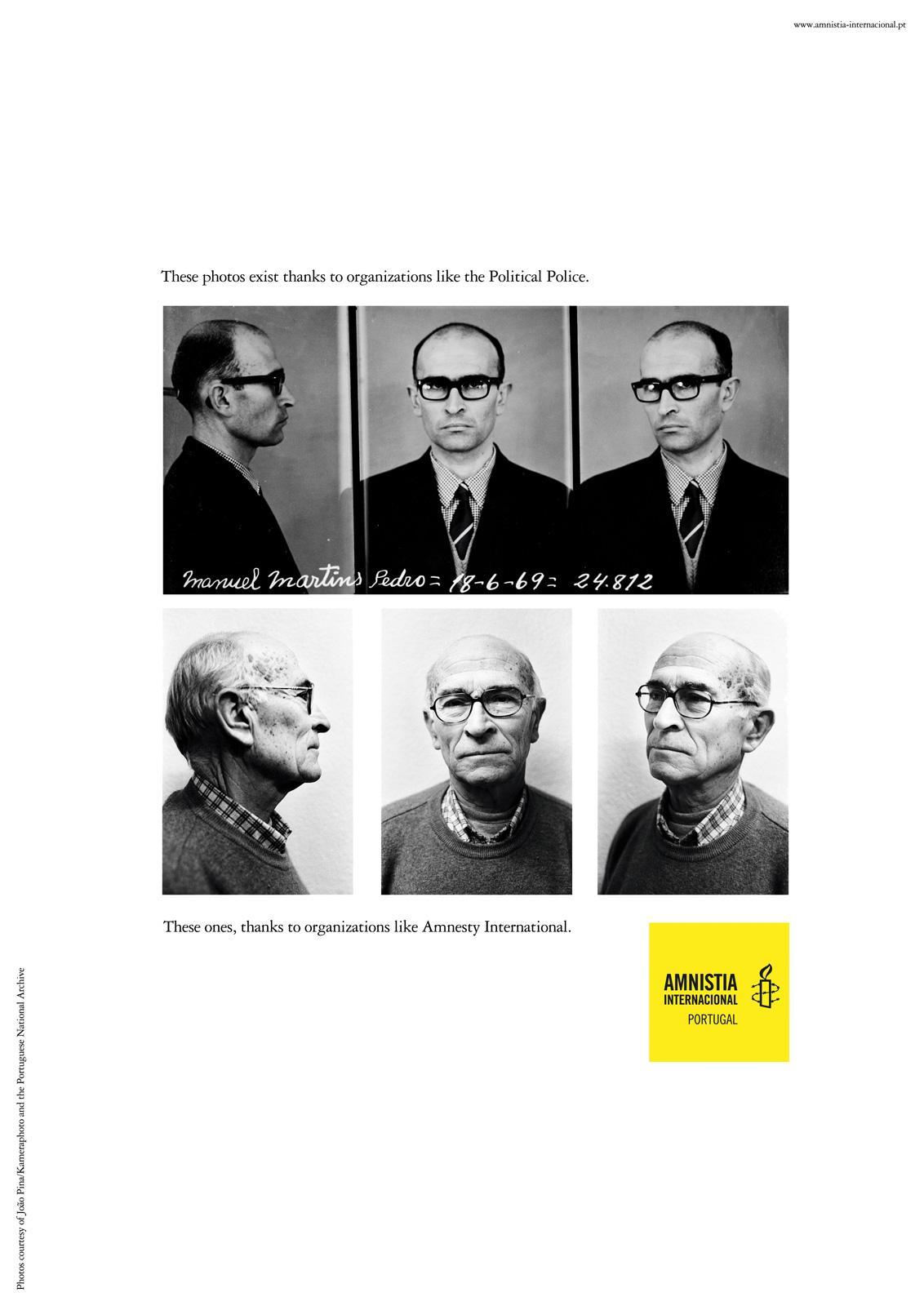 Amnesty International Print Ad -  Manuel