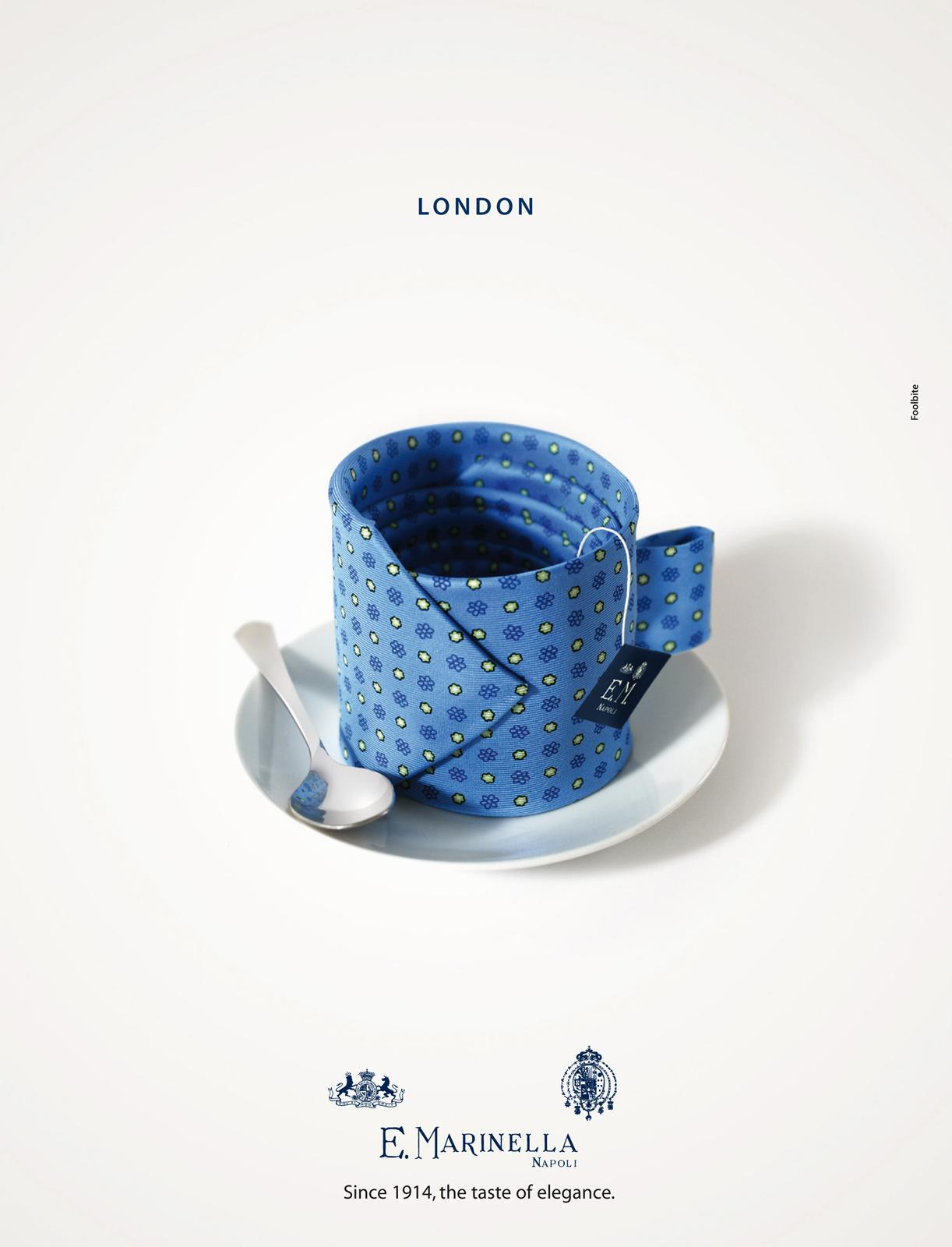 Marinella Print Ad -  London
