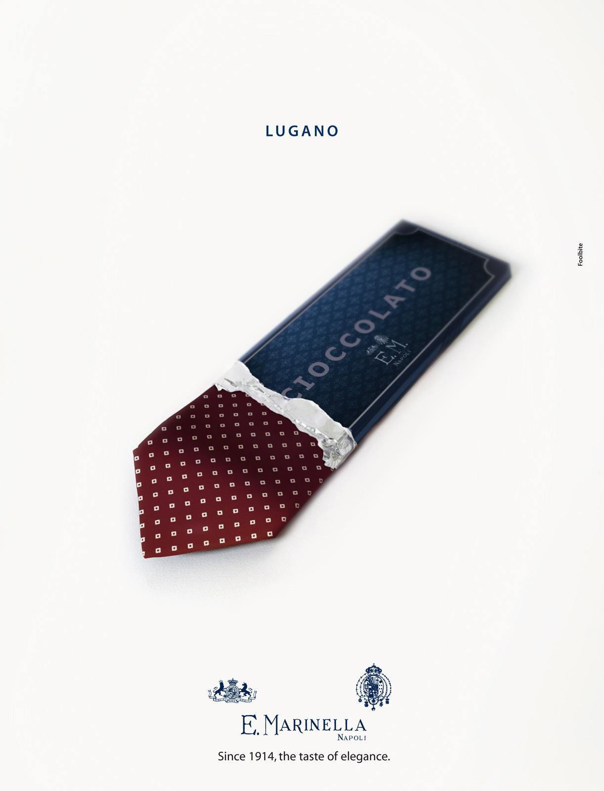 Marinella Print Ad -  Lugano