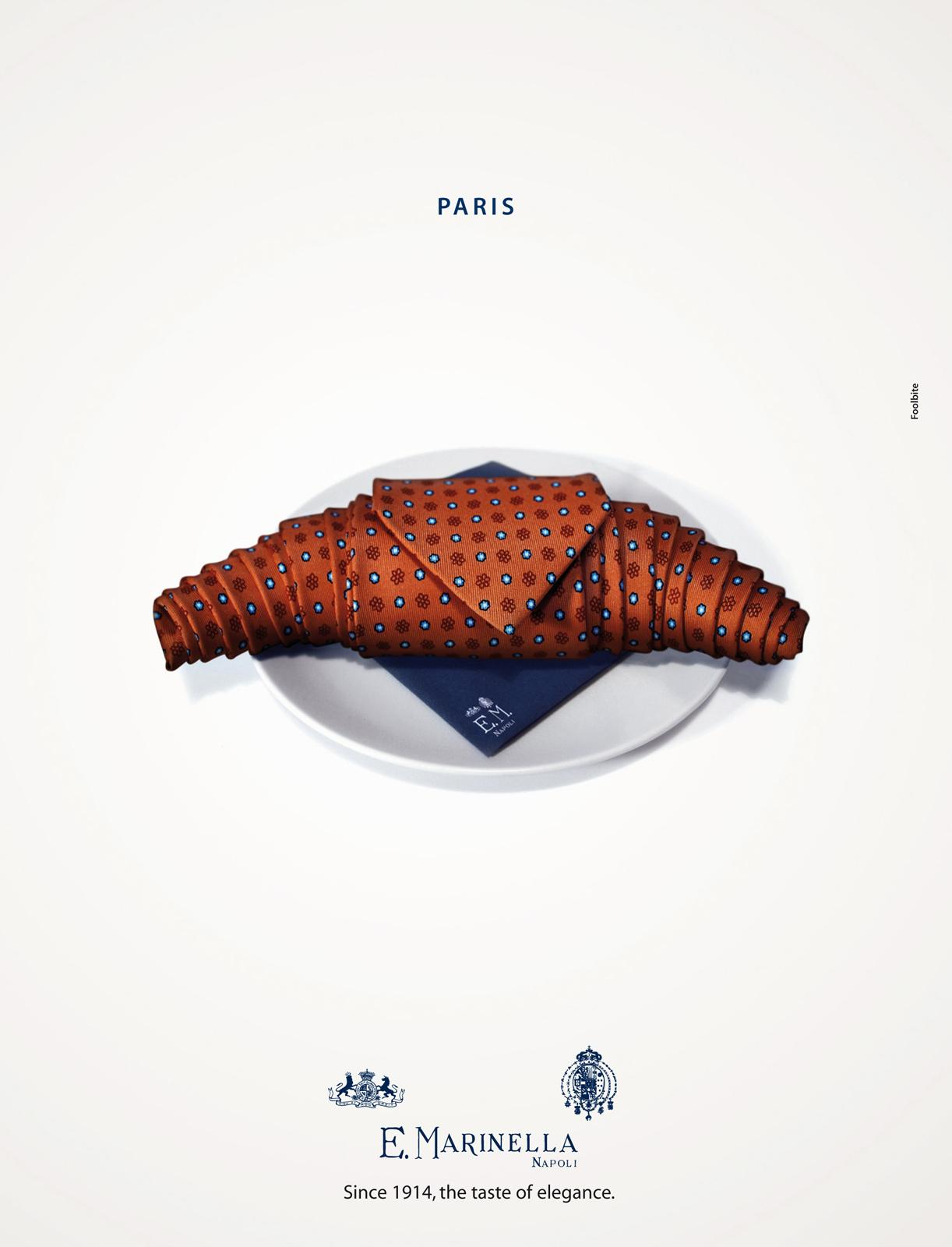 Marinella Print Ad -  Paris