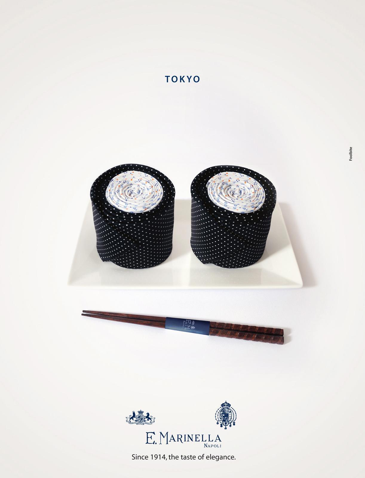 Marinella Print Ad -  Tokyo