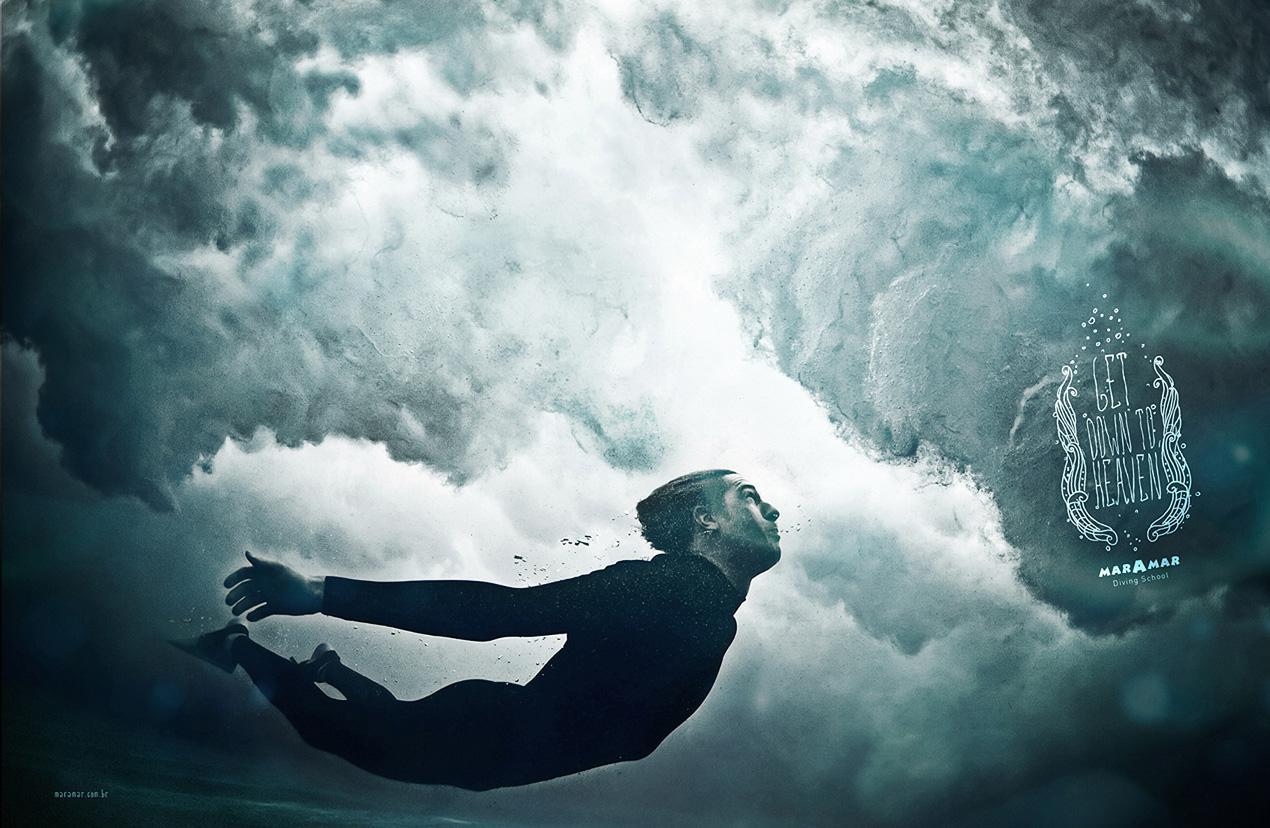 Maramar Diving School Print Ad -  Get Down To Heaven, 2