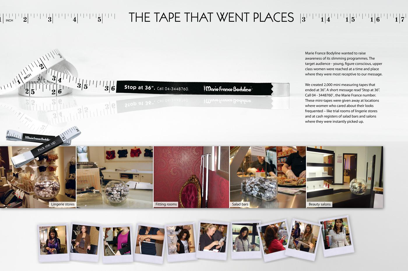 Marie France Bodyline Direct Ad -  Tape