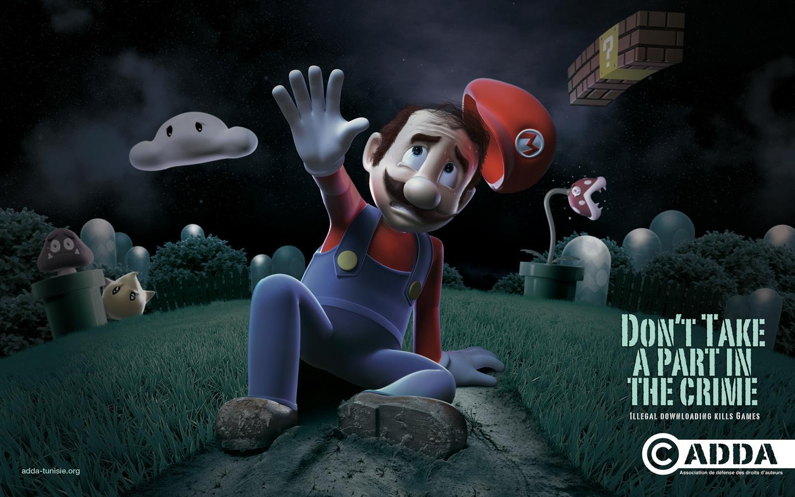 ADDA Print Ad -  Mario