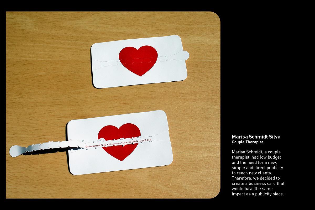 Marisa Schmidt Direct Ad -  Heart