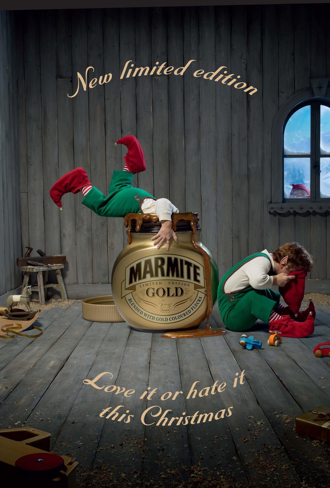 Marmite Print Ad -  Elves