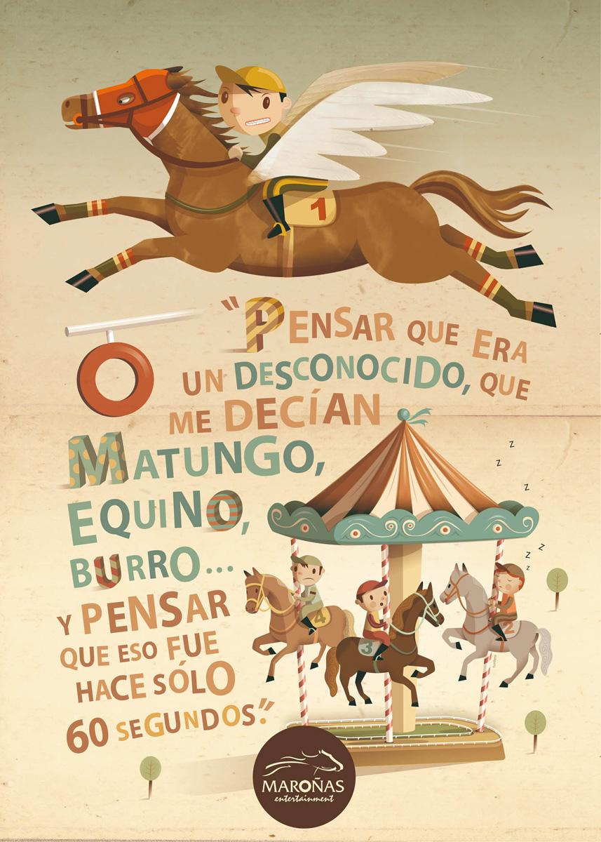 Maronas Print Ad -  Donkey