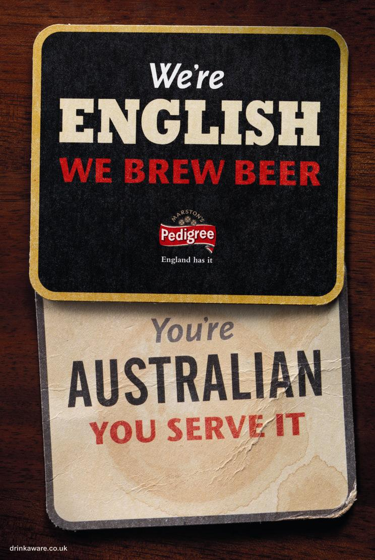 Marston's Print Ad -  Coaster