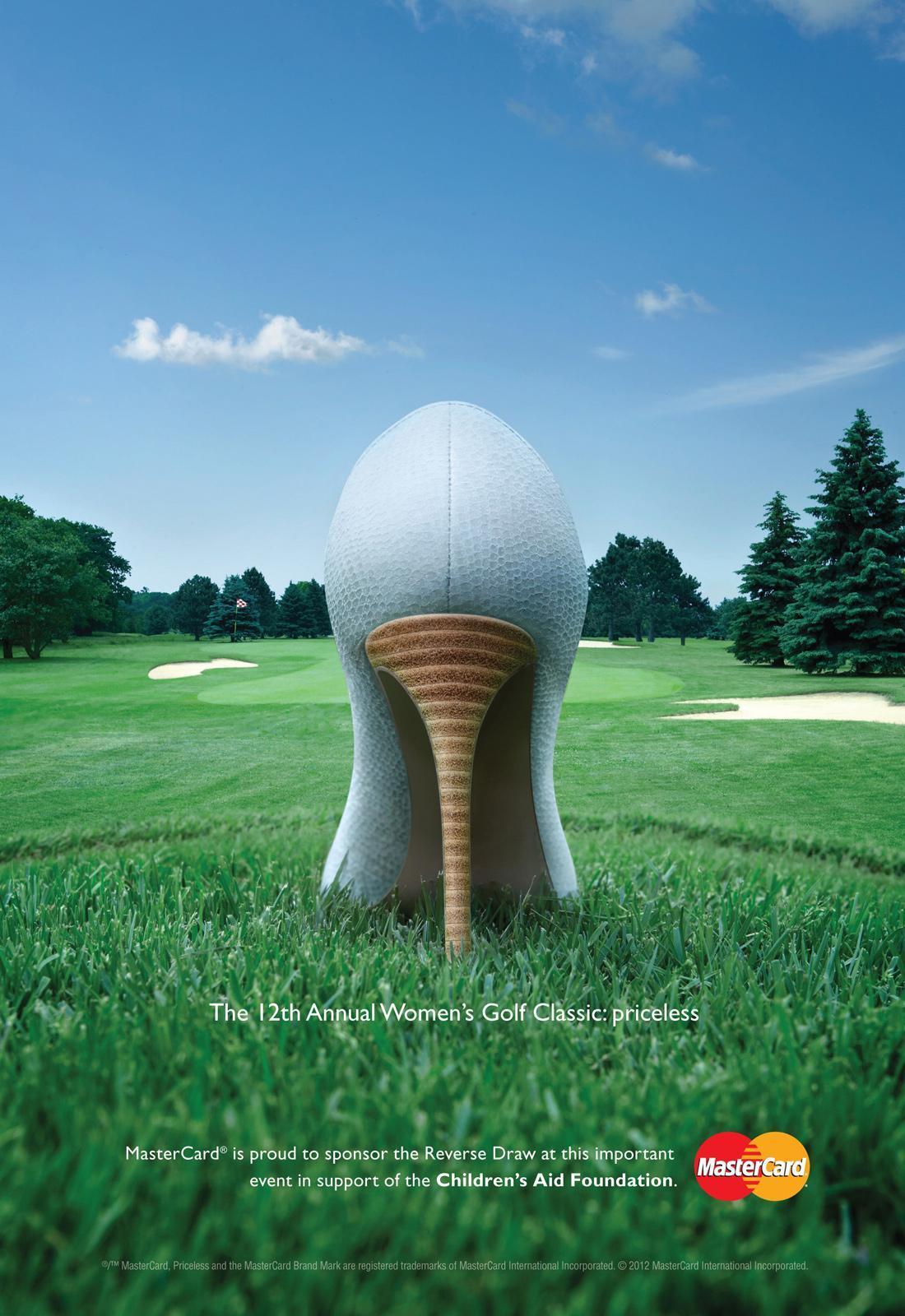 MasterCard Print Ad -  Women's Golf Classic