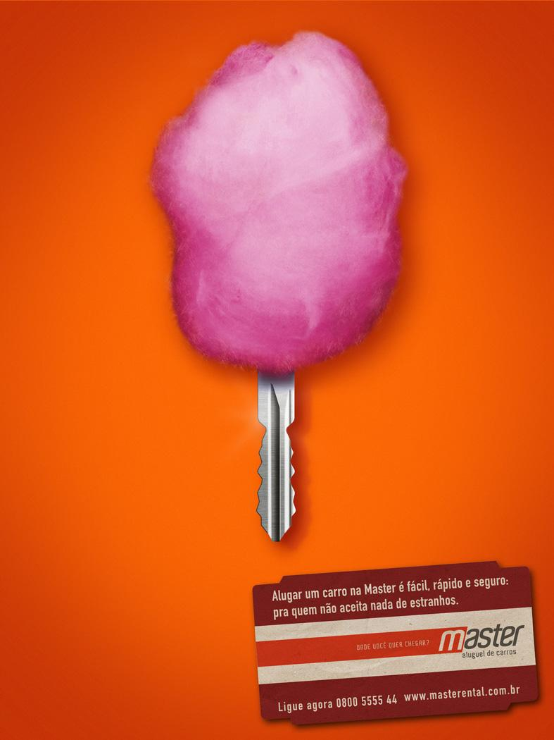 Master Print Ad -  Cotton candy