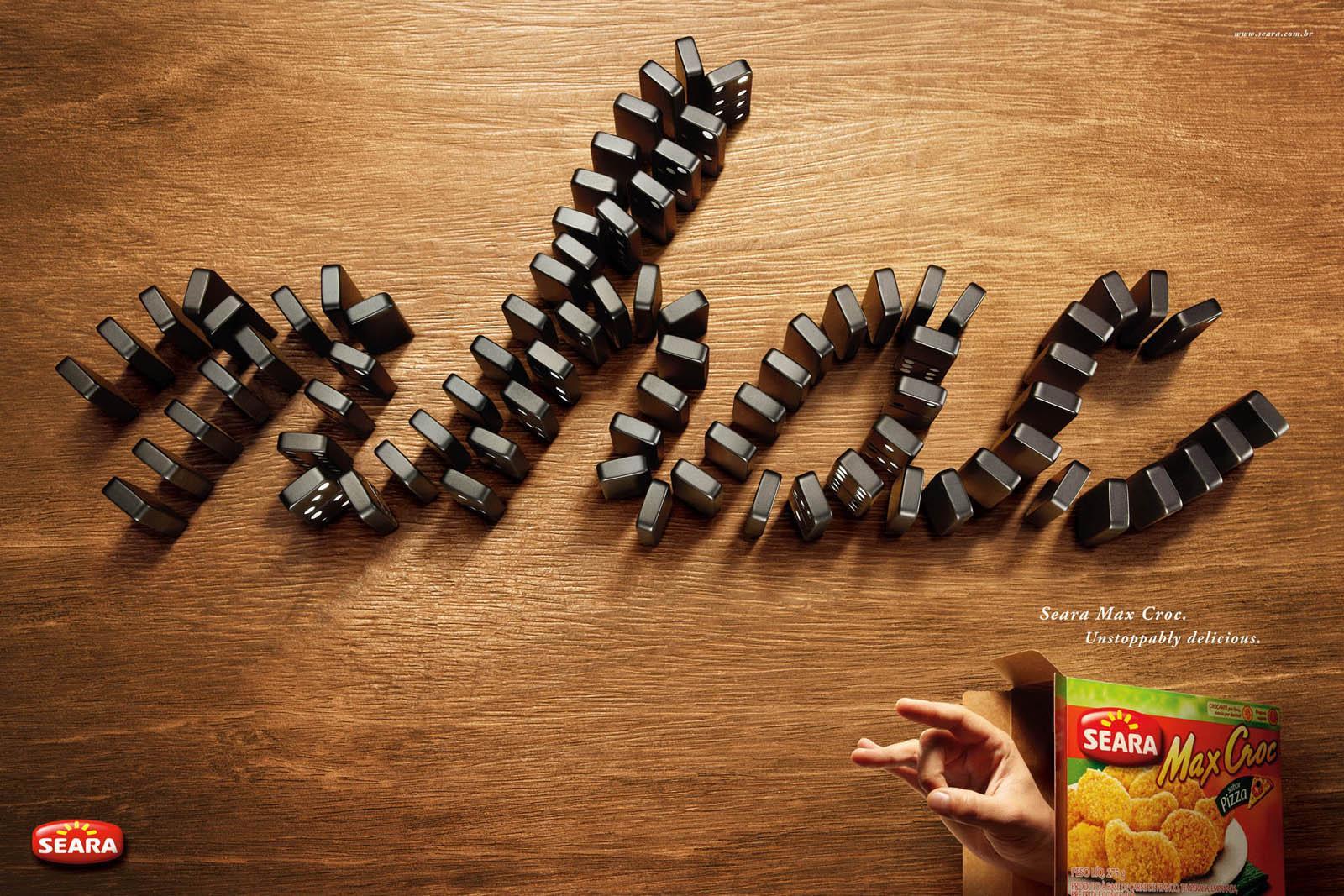 Max Croc Print Ad -  Nhac Domino