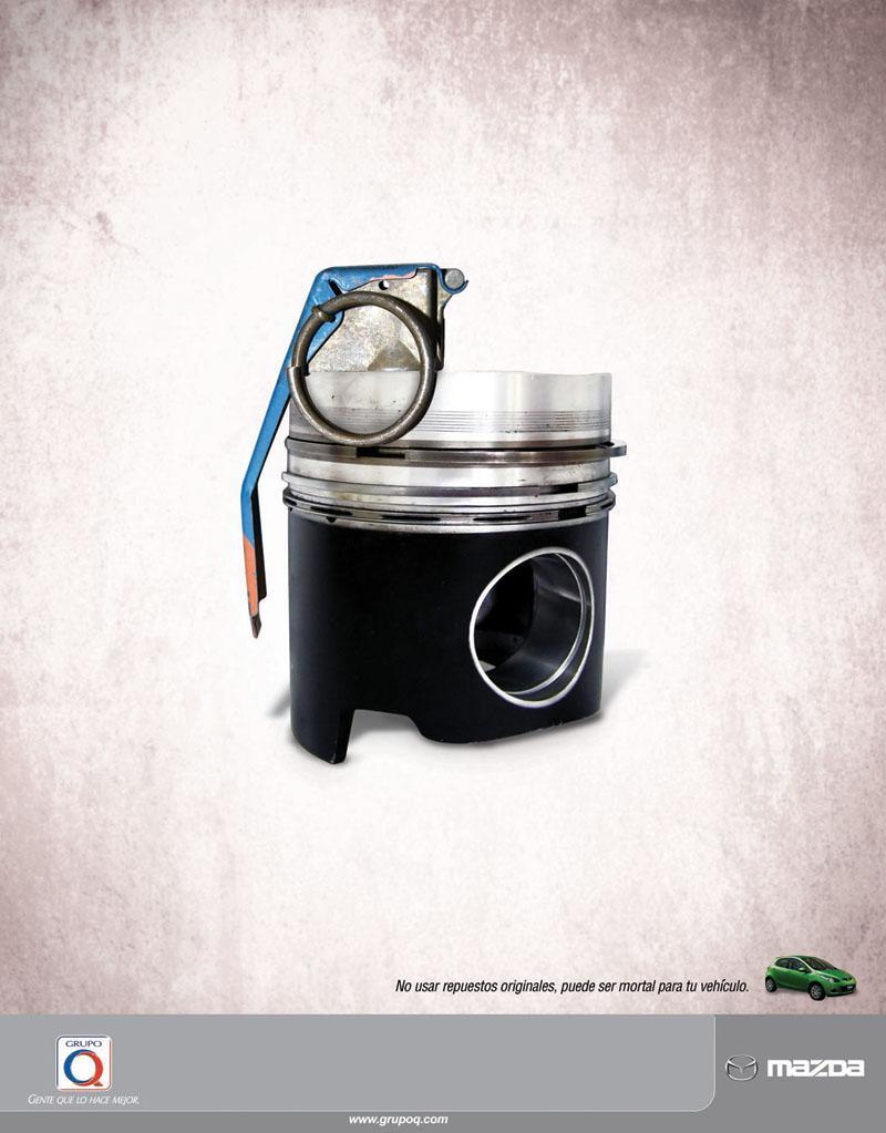Mazda Print Ad -  Original, 1