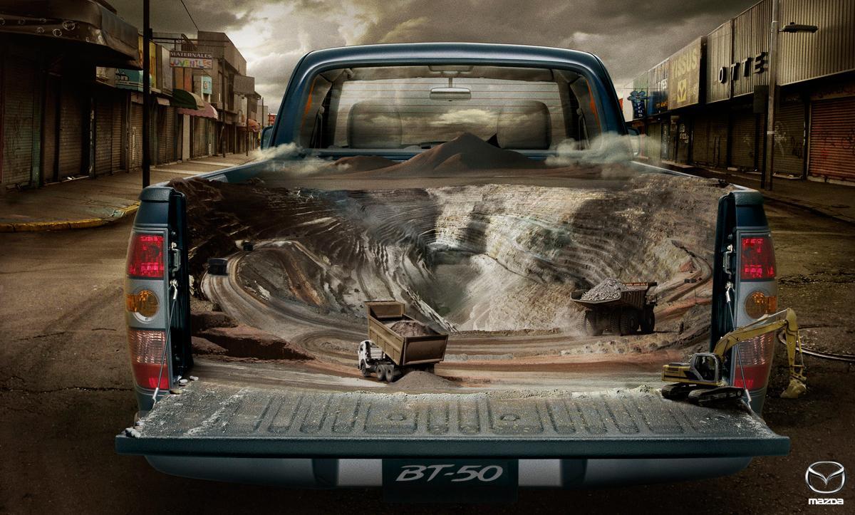 Mazda Print Ad -  Mine