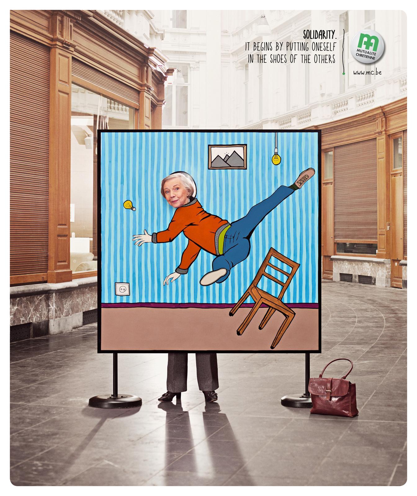Mutualité chrétienne Print Ad -  Fall