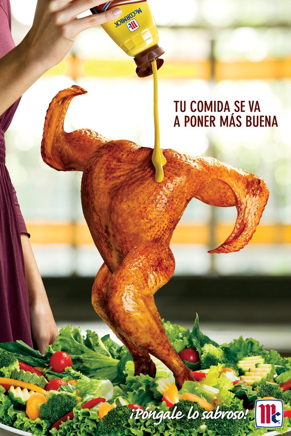 McCormick Print Ad -  Chicken