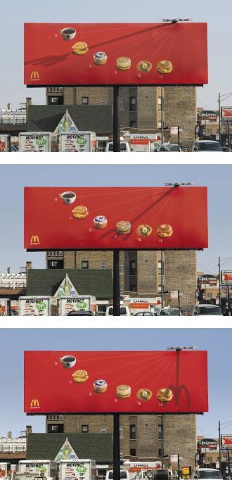 McDonald's Ambient Ad -  Sundial