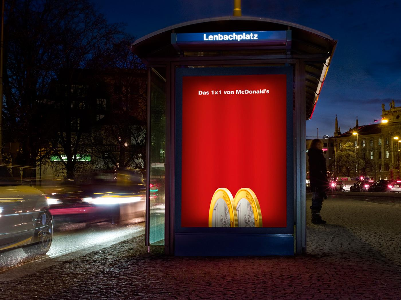 McDonald's Outdoor Ad -  1x1