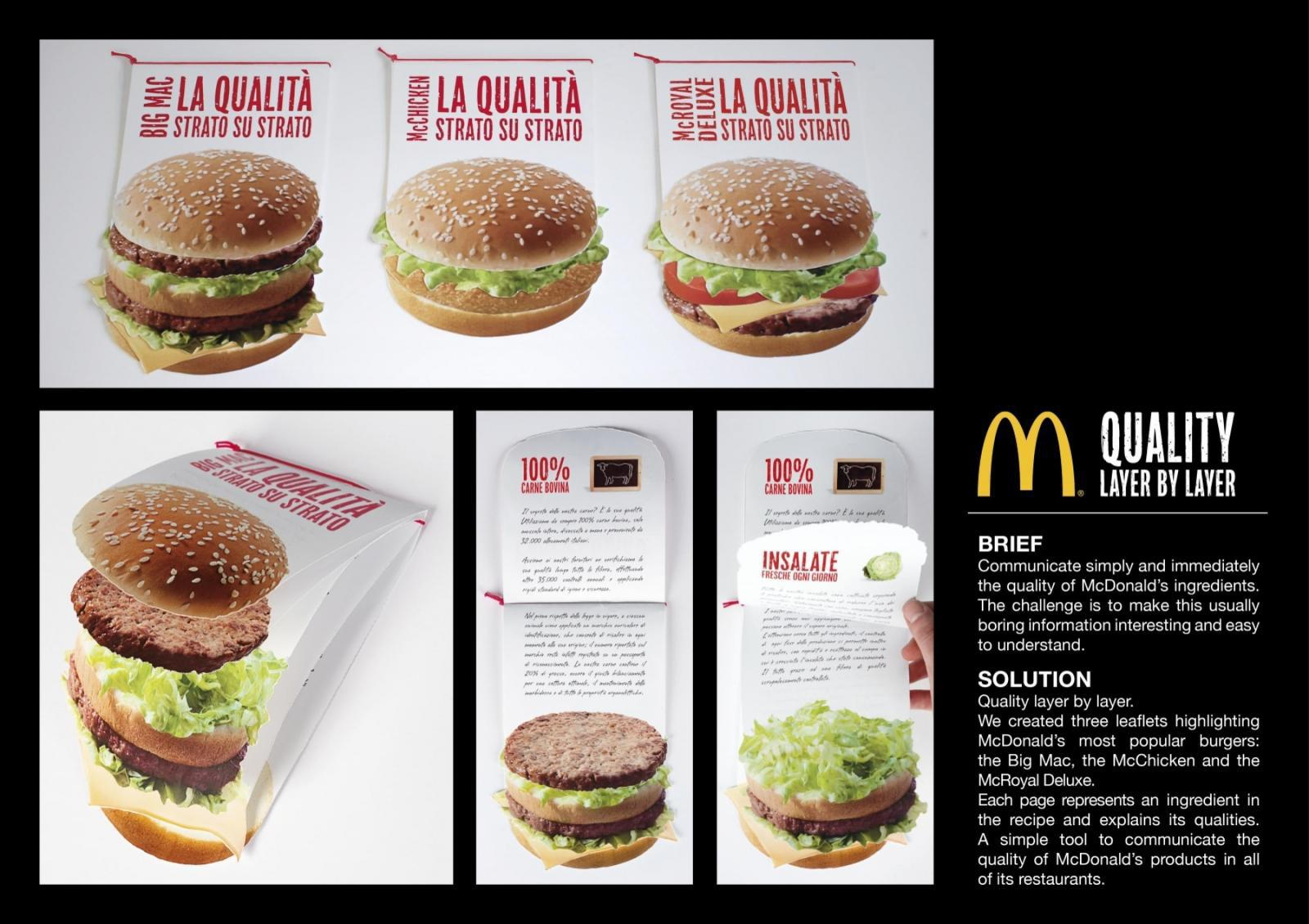 McDonald's Direct Ad -  Quality Matters