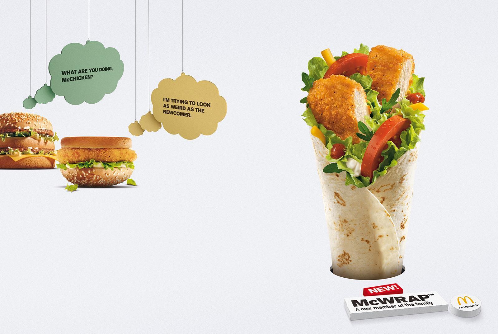 McDonald's Print Ad -  Newcomer