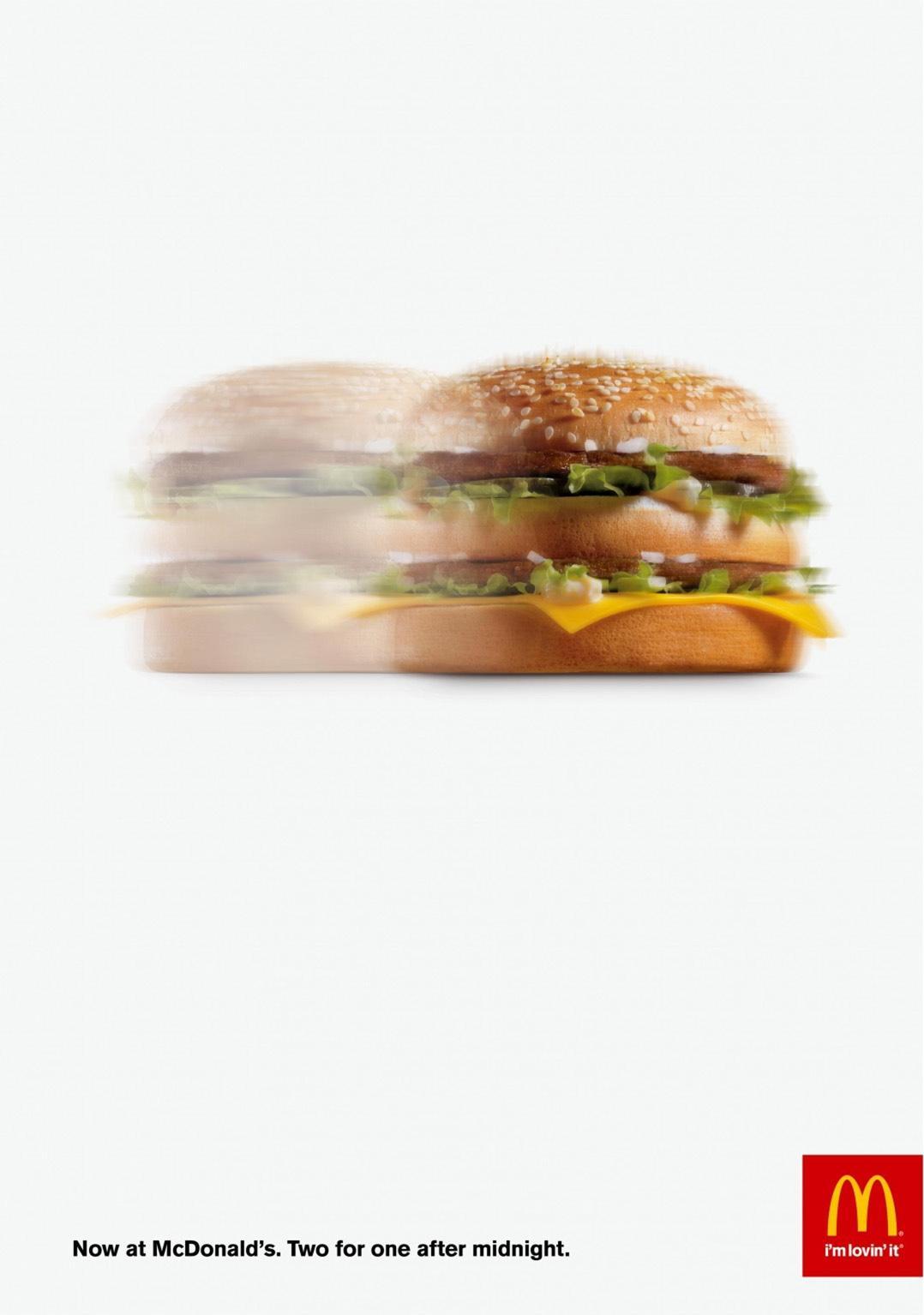 McDonald's Print Ad -  McDouble