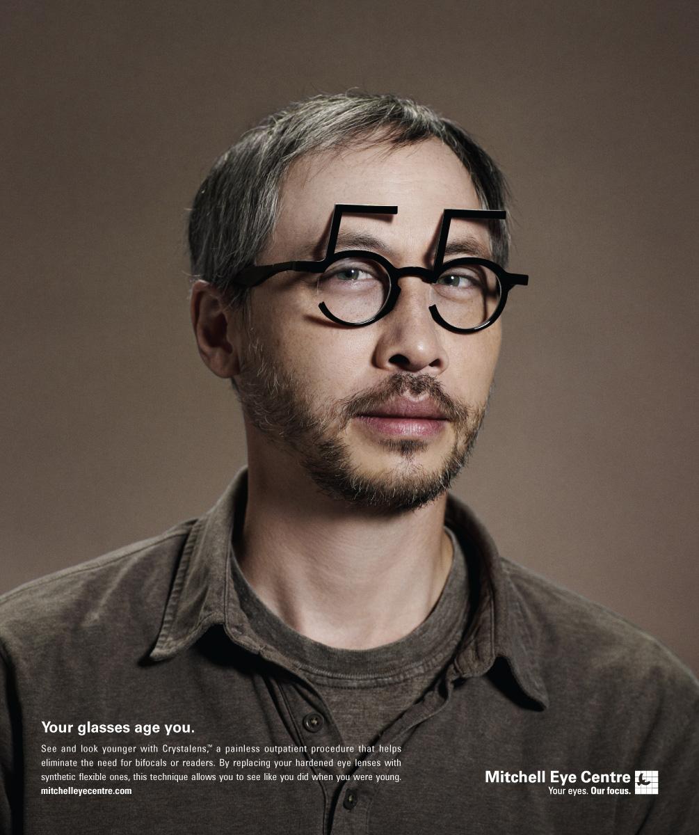 Mitchell Eye Centre Print Ad -  55