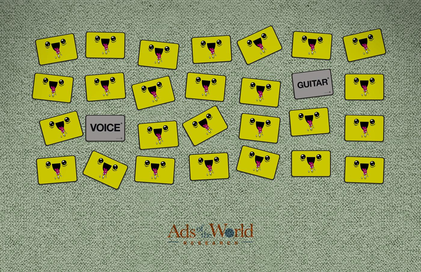 Ads of the World Print Ad -  Memorize, 2