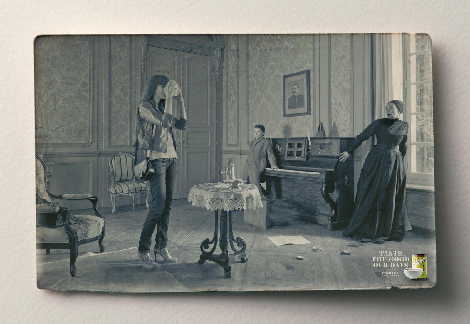 Menier Print Ad -  Good old days, 2